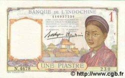 1 Piastre INDOCHINE FRANÇAISE  1936 P.054b TTB+
