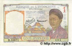 1 Piastre INDOCHINE FRANÇAISE  1945 P.054d SUP