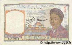 1 Piastre INDOCHINE FRANÇAISE  1945 P.054d SPL