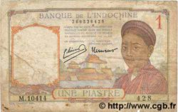 1 Piastre INDOCHINE FRANÇAISE  1949 P.054e B
