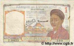 1 Piastre INDOCHINE FRANÇAISE  1949 P.054e TTB