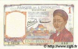 1 Piastre INDOCHINE FRANÇAISE  1949 P.054e
