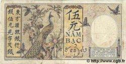 5 Piastres INDOCHINE FRANÇAISE  1931 P.049b pr.TTB