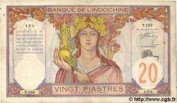 20 Piastres INDOCHINE FRANÇAISE  1931 P.050 TTB