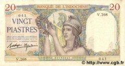 20 Piastres INDOCHINE FRANÇAISE  1939 P.056b SUP