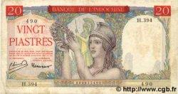 20 Piastres INDOCHINE FRANÇAISE  1949 P.081 TTB