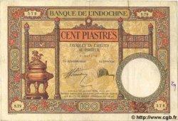 100 Piastres INDOCHINE FRANÇAISE  1931 P.051b pr.TTB