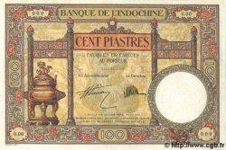100 Piastres INDOCHINE FRANÇAISE  1931 P.051bs SUP