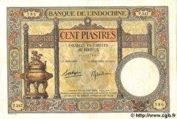 100 Piastres INDOCHINE FRANÇAISE  1939 P.051d SUP