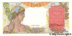 100 Piastres INDOCHINE FRANÇAISE  1947 P.082as