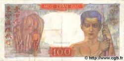 100 Piastres INDOCHINE FRANÇAISE  1954 P.082b TTB