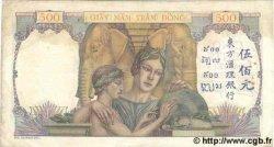 500 Piastres INDOCHINE FRANÇAISE  1939 P.057 TTB