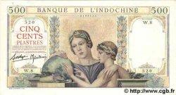 500 Piastres INDOCHINE FRANÇAISE  1939 P.057 SPL