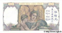 500 Piastres INDOCHINE FRANÇAISE  1939 P.057s pr.NEUF
