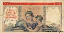 500 Piastres INDOCHINE FRANÇAISE  1951 P.083 TB