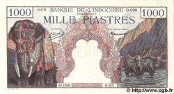 1000 Piastres INDOCHINE FRANÇAISE  1948 P.084s1 NEUF