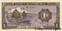 1 Piastre violet INDOCHINE FRANÇAISE  1943 P.060