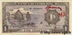 1 Piastre violet INDOCHINE FRANÇAISE  1943 P.060s
