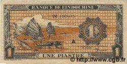 1 Piastre orange INDOCHINE FRANÇAISE  1945 P.058 TTB+