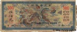 500 Piastres bleu INDOCHINE FRANÇAISE  1944 P.068 B