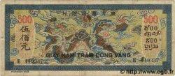 500 Piastres bleu INDOCHINE FRANÇAISE  1944 P.068 pr.TTB