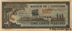 500 Piastres gris-vert INDOCHINE FRANÇAISE  1945 P.069