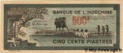 500 Piastres gris-vert INDOCHINE FRANÇAISE  1945 P.069 SPL