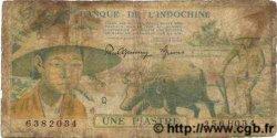 1 Piastre INDOCHINE FRANÇAISE  1949 P.074 AB