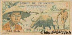 1 Piastre INDOCHINE FRANÇAISE  1949 P.074 TTB+