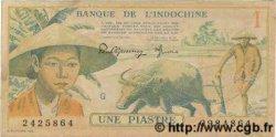 1 Piastre INDOCHINE FRANÇAISE  1949 P.074 pr.SPL