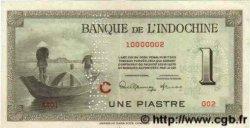 1 Piastre INDOCHINE FRANÇAISE  1945 P.076bs pr.SUP