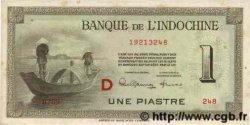 1 Piastre INDOCHINE FRANÇAISE  1945 P.076b