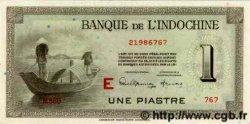 1 Piastre INDOCHINE FRANÇAISE  1945 P.076c NEUF