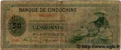 50 Piastres INDOCHINE FRANÇAISE  1945 P.077 B