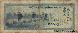 100 Piastres INDOCHINE FRANÇAISE  1945 P.078 B à TB