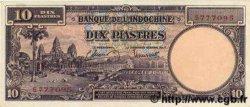 10 Piastres INDOCHINE FRANÇAISE  1947 P.080 NEUF