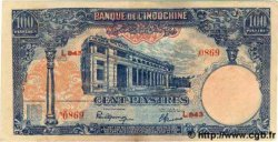 100 Piastres INDOCHINE FRANÇAISE  1945 P.079b