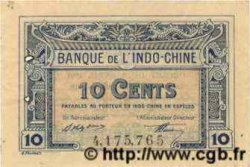 10 Cents INDOCHINE FRANÇAISE  1922 P.043