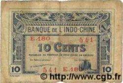10 Cents INDOCHINE FRANÇAISE  1922 P.044 pr.TB