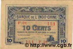 10 Cents INDOCHINE FRANÇAISE  1922 P.044 SUP
