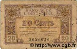 20 Cents INDOCHINE FRANÇAISE  1922 P.045a TB