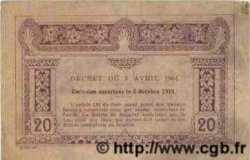 20 Cents INDOCHINE FRANÇAISE  1922 P.045a TB+