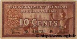 10 Cents INDOCHINE FRANÇAISE  1939 P.085a SUP+
