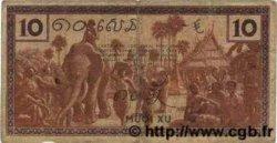 10 Cents INDOCHINE FRANÇAISE  1939 P.085c
