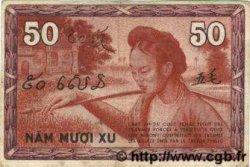 50 Cents INDOCHINE FRANÇAISE  1939 P.087d