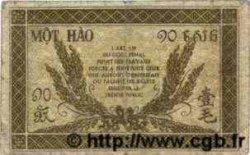 10 Cents INDOCHINE FRANÇAISE  1943 P.089 B