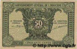 50 Cents INDOCHINE FRANÇAISE  1943 P.091 pr.NEUF