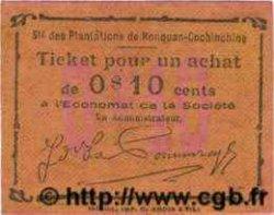 10 cents INDOCHINE FRANÇAISE  1920