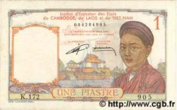 1 Piastre INDOCHINE FRANÇAISE  1952 P.092 pr.NEUF