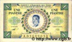 1 Piastre - 1 Kip INDOCHINE FRANÇAISE  1952 P.099 TTB+